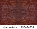 red cow leather texture.... | Shutterstock . vector #1138426754