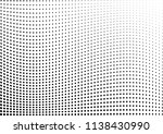 abstract halftone wave dotted... | Shutterstock .eps vector #1138430990