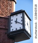Art Deco Clock On The Side Of...