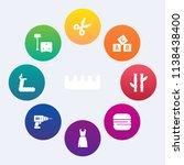 modern  simple vector icon set... | Shutterstock .eps vector #1138438400