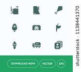 modern  simple vector icon set... | Shutterstock .eps vector #1138441370