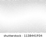 abstract halftone wave dotted... | Shutterstock .eps vector #1138441934