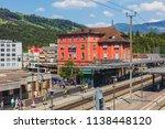 arth goldau  switzerland   19... | Shutterstock . vector #1138448120