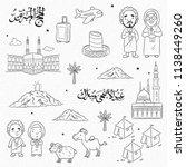Doodle Cartoon Eid Al Adha ...