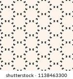 vector minimalist seamless... | Shutterstock .eps vector #1138463300