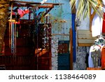 local handcraft shop in dahab ...   Shutterstock . vector #1138464089