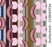 rainbow seamless pattern.... | Shutterstock . vector #1138465316