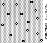 Vector Fishnet Pattern In...