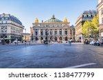 paris  france   april 13  2017  ...   Shutterstock . vector #1138477799