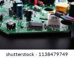 microchips electronic...   Shutterstock . vector #1138479749