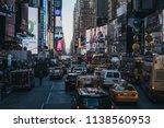 new york  usa   may 30  2018 ...   Shutterstock . vector #1138560953
