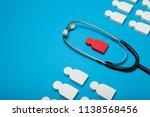 medical health concept  safe... | Shutterstock . vector #1138568456