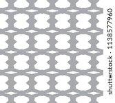 seamless vector pattern in... | Shutterstock .eps vector #1138577960