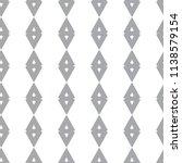 seamless geometric ornamental... | Shutterstock .eps vector #1138579154