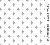 seamless geometric ornamental... | Shutterstock .eps vector #1138579160