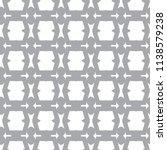 seamless geometric ornamental... | Shutterstock .eps vector #1138579238