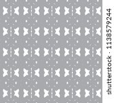 seamless geometric ornamental... | Shutterstock .eps vector #1138579244