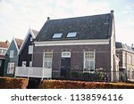 view of traditional houses at... | Shutterstock . vector #1138596116