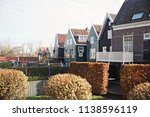 view of traditional houses at... | Shutterstock . vector #1138596119