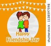 illustration of background for... | Shutterstock .eps vector #1138597598