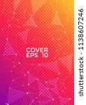 vector report template. global... | Shutterstock .eps vector #1138607246
