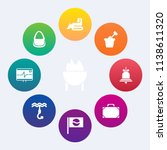modern  simple vector icon set... | Shutterstock .eps vector #1138611320
