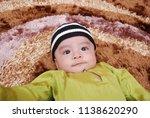 male kid post for portrait... | Shutterstock . vector #1138620290