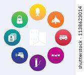 modern  simple vector icon set... | Shutterstock .eps vector #1138623014