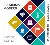 modern  simple vector icon set... | Shutterstock .eps vector #1138626293