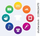 modern  simple vector icon set... | Shutterstock .eps vector #1138626470