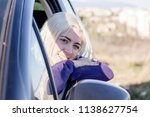 portrait of cute  fun  young... | Shutterstock . vector #1138627754