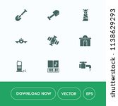 modern  simple vector icon set... | Shutterstock .eps vector #1138629293