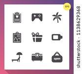 modern  simple vector icon set... | Shutterstock .eps vector #1138629368