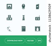 modern  simple vector icon set... | Shutterstock .eps vector #1138629509