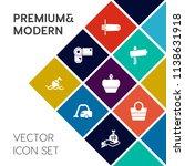 modern  simple vector icon set... | Shutterstock .eps vector #1138631918