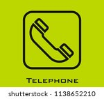 telephone icon signs