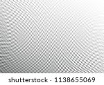 abstract halftone wave dotted... | Shutterstock .eps vector #1138655069