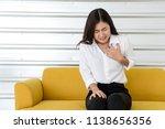 beautiful young asian woman... | Shutterstock . vector #1138656356