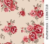 floral seamless pattern.  use...   Shutterstock . vector #113867218