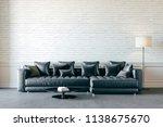 3d render of beautiful interior ...   Shutterstock . vector #1138675670