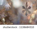 winter holidays close up macro... | Shutterstock . vector #1138684310