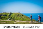 tintagel  cornwall   uk   08 28 ... | Shutterstock . vector #1138686440