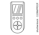 digital remote control... | Shutterstock .eps vector #1138699319