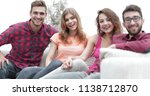 group of cheerful friends... | Shutterstock . vector #1138712870