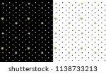 black vector backdrop with... | Shutterstock .eps vector #1138733213