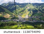 saalbach aerial view from... | Shutterstock . vector #1138754090