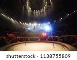 tightrope walkers at the circus. | Shutterstock . vector #1138755809