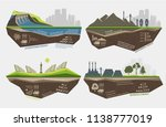 set of infographic... | Shutterstock .eps vector #1138777019