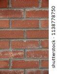 red brick wall texture | Shutterstock . vector #1138778750