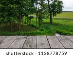 wooden planks on the background ... | Shutterstock . vector #1138778759